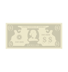 Bill money cash dollar vector