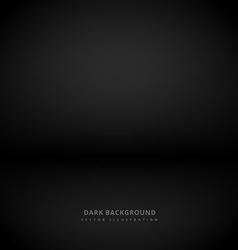 Dark studio style background vector