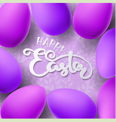 easter with egg vector image