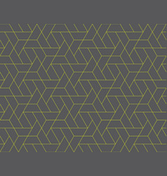 geometric grid seamless pattern vector image