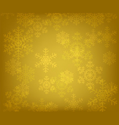 glowing snowflakes vector image