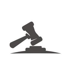 Hummer justice logo design template vector