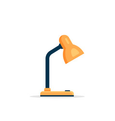 Office table lamp icon reading-lamp vector