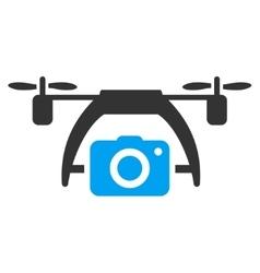 Photo Drone Icon vector image