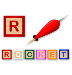 R is for rocket vector