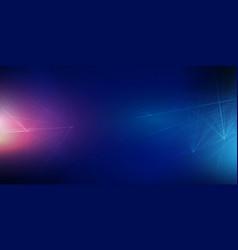 techno banner design vector image