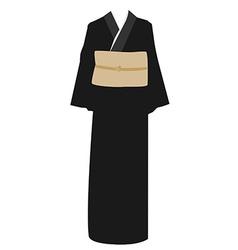 Kimono dress vector image vector image