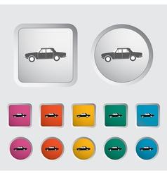 Car icon 2 vector image