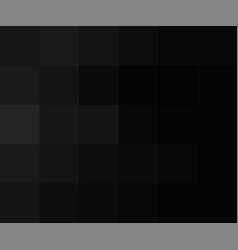 black color abstract squares background dark vector image