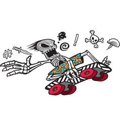 Bones Boarder vector image