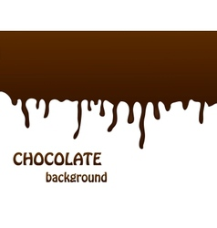 Chocolate background editable vector