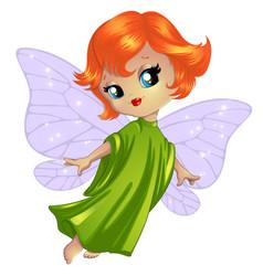 Cute little fairy vector
