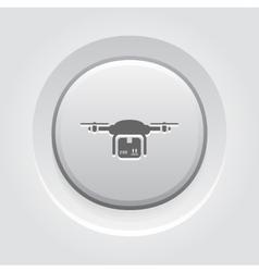 Drone Delivery Icon vector