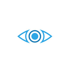 eye icon graphic design template vector image