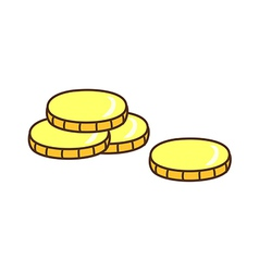 Four Coin vector