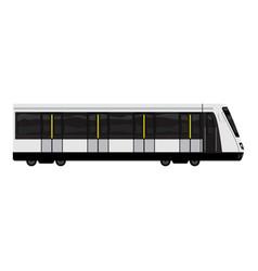 high speed train icon cartoon style vector image