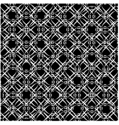 Lacy black and white pattern two vector