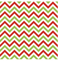 christmas chevron seamless pattern vector image vector image