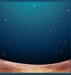 A galaxy space theme background vector