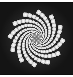 Abstract spiral background cover template vector
