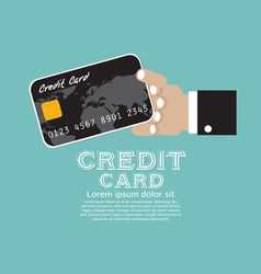 Credit Card EPS10 vector image