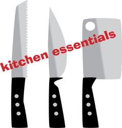 Kitchen Essentials vector