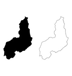 Piaui map vector