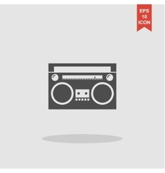 radio icon concept for design vector image