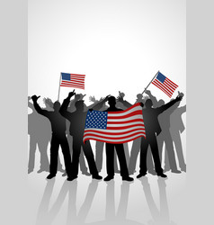 spirit of a nation vector image vector image