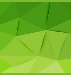 abstract green graphic art vector image vector image