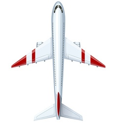 Modern design of airplane vector image vector image
