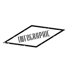 infographic rubber stamp vector image