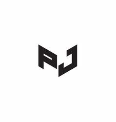 Logo letter monogram initial designs template vector