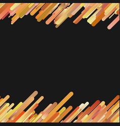 Orange modern gradient background with seamless vector