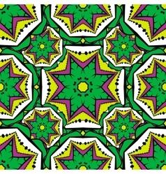 Seamless pattern 3 Vintage decorative elements vector image