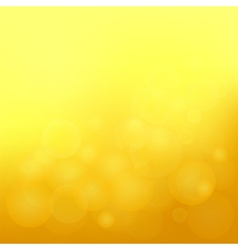 Yellow blurred background vector