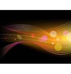 shiny abstract horizontal background vector image