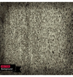 dirty rusty grunge texture vector image