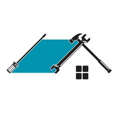 home repair tool symbol vector image vector image