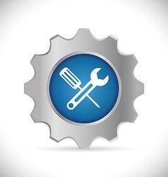 Technical service design vector image vector image