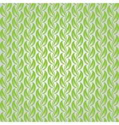 Abstract leaf seamless pattern with ethnic vector