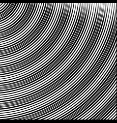 Circle pattern with dynamic irregular lines vector