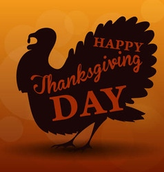 happy thanksgiving8 vector image