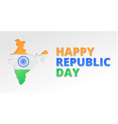 india republic day poster vector image