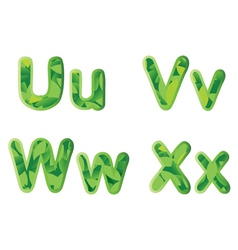 letters vector image