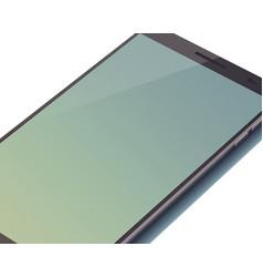 modern digital device mock up concept vector image