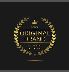 original brand icon vector image