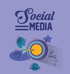 people social media vector image