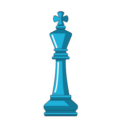 Piece chess cartoon vector