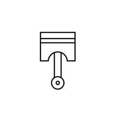 Piston car icon can be used for web logo mobile vector